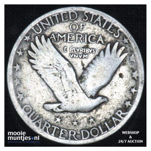quarter - standing liberty - - United States of America 1926 (KM 145) (kant B)