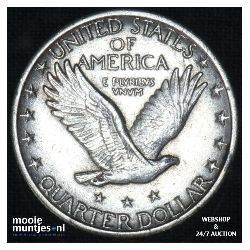 quarter - standing liberty - - United States of America 1928 (KM 145) (kant B)