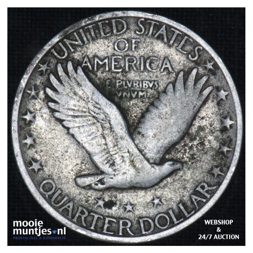 quarter - standing liberty - - United States of America 1930 S (KM 145) (kant B)