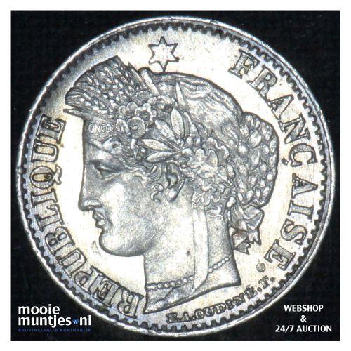 20 centimes - France 1851 A (Paris) (KM 758.1) (kant B)