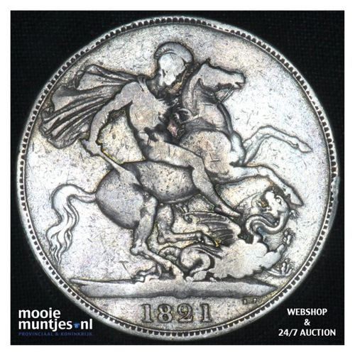 crown - Great Britain 1821 (KM 680.1) (kant A)