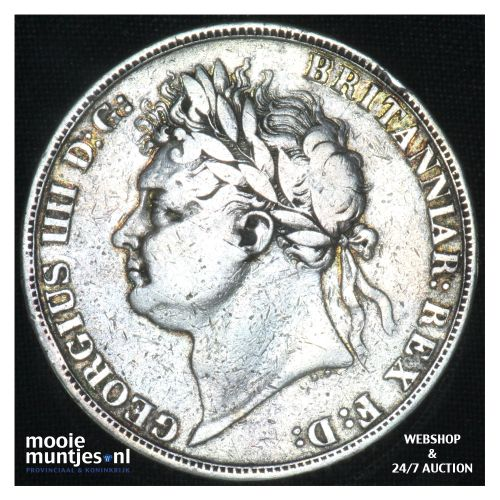 crown - Great Britain 1821 (KM 680.1) (kant B)