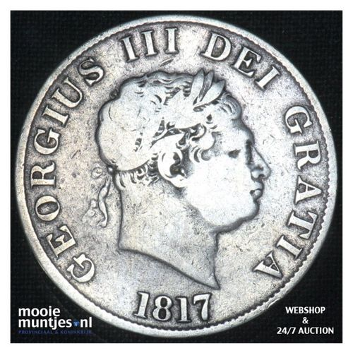 1/2 crown - Great Britain 1817 (KM 667) (kant A)