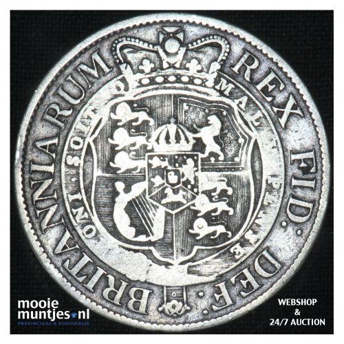 1/2 crown - Great Britain 1817 (KM 667) (kant B)