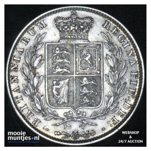 1/2 crown - Great Britain 1846 (KM 740) (kant B)