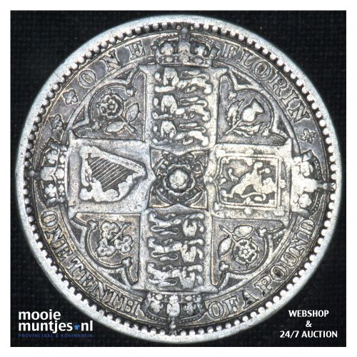 florin (two shillings) - Great Britain 1849  (KM 745) (kant B)