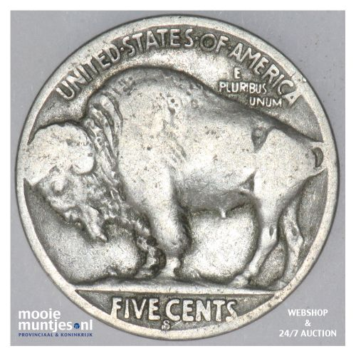 5 cents - buffalo nickel -  - United States of America 1936 S (KM 134) (kant B)