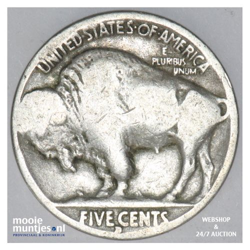 5 cents - buffalo nickel -  - United States of America 1935 D (KM 134) (kant B)
