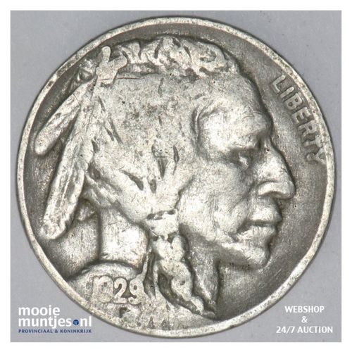 5 cents - buffalo nickel -  - United States of America 1929 (KM 134) (kant A)
