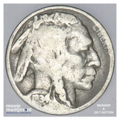 5 cents - buffalo nickel -  - United States of America 1934 D  (KM 134) (kant A)