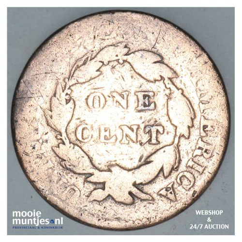 cent - coronet -  - United States of America/Circulation coinage 1822 (KM 45) (k