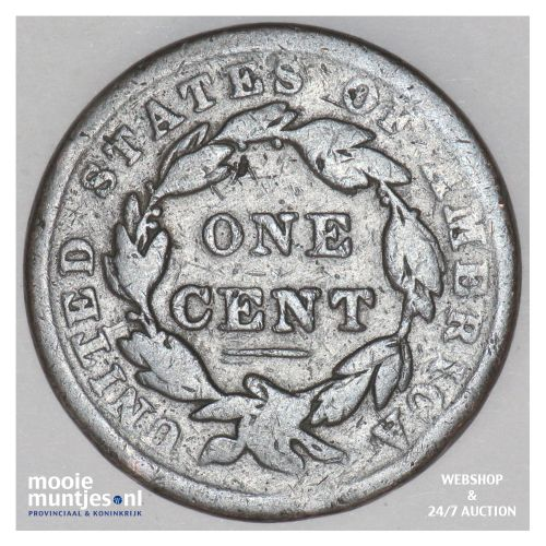 cent - coronet -  - United States of America/Circulation coinage 1838 (KM 45) (k