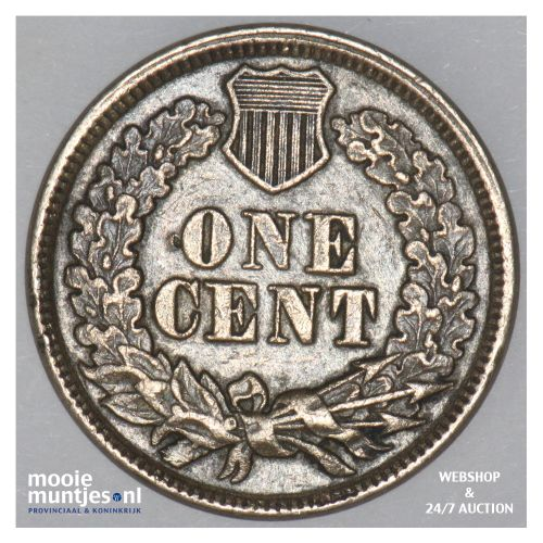 cent - indian head -  - United States of America/Circulation coinage 1863 (KM 90