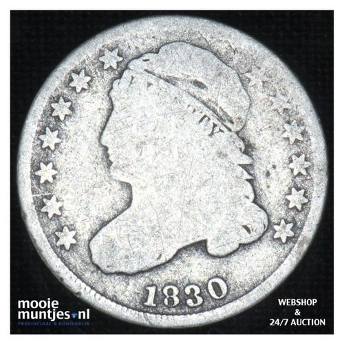 dime - liberty cap -  - United States of America/Circulation coinage 1830 (large