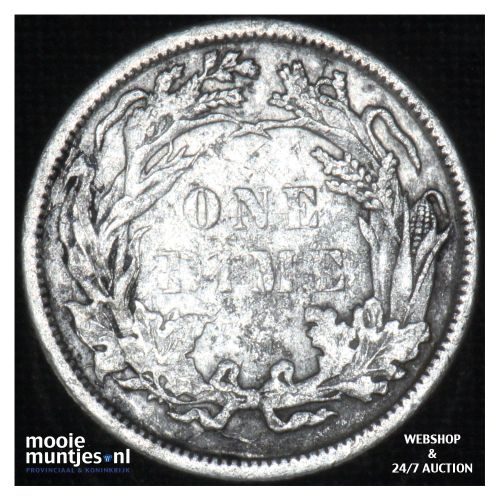 dime - seated liberty -  - United States of America/Circulation coinage 1882 (KM