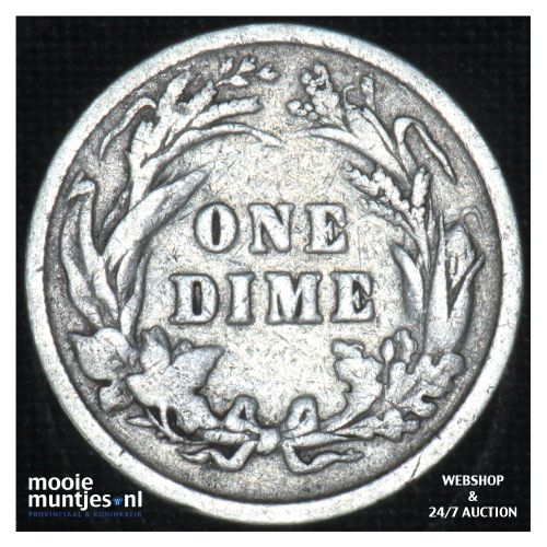 dime - barber -  - United States of America/Circulation coinage 1899 (KM 113) (k
