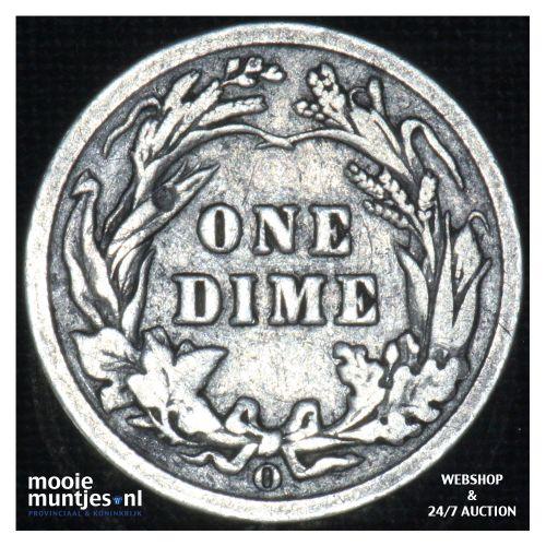 dime - barber - - United States of America 1903 O (KM 113) (kant B)