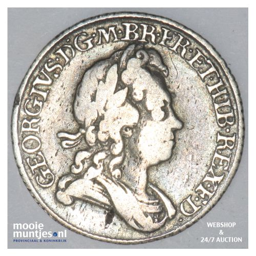 6 pence  - Great Britain 1723 (KM 522.1) (kant B)