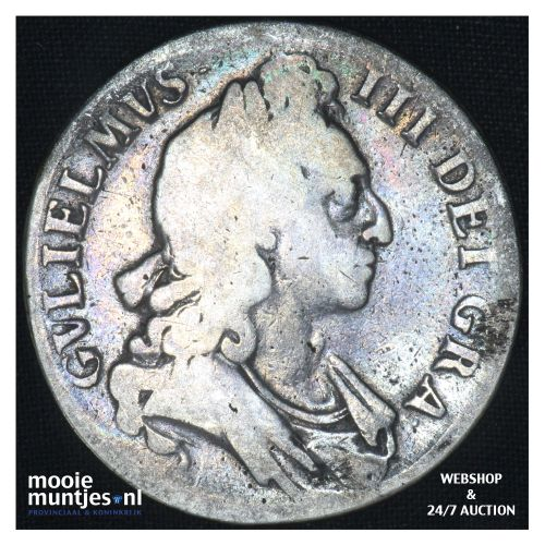 crown - pre-decimal coinage - - Great Britain 1696 (KM 486) (kant B)