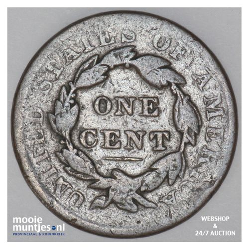 cent - coronet -  - United States of America/Circulation coinage 1836 (KM 45) (k