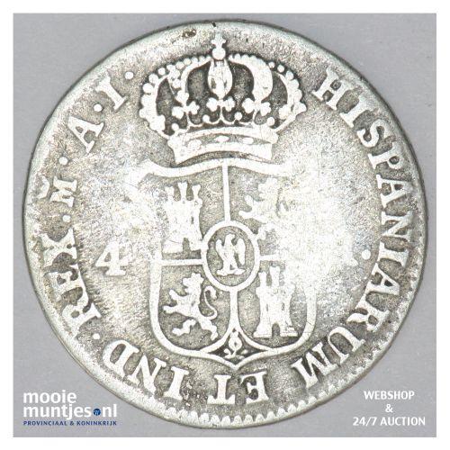 4 reales - de vellon coinage - - Spain 1810 AL (KM 540.1) (kant B)