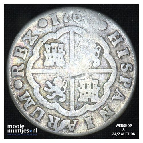 real -  - Spain 1760 JP (KM 354) (kant A)
