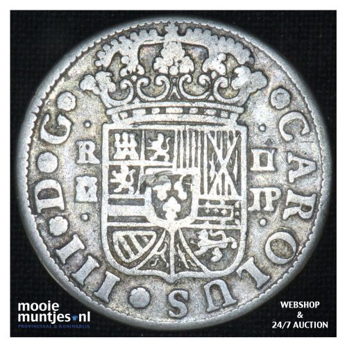 real -  - Spain 1760 JP (KM 354) (kant B)