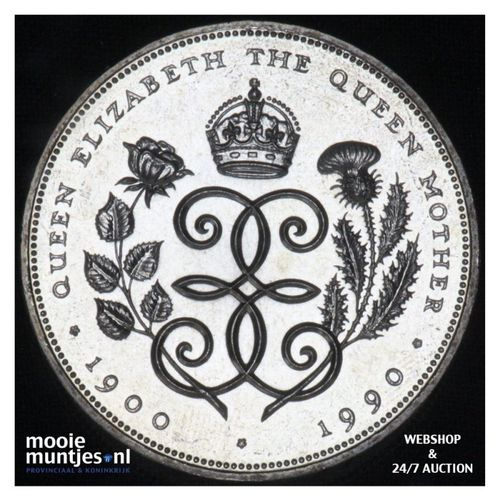 5 pounds - Great Britain 1990 (KM 962) (kant A)