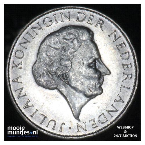 Suriname (koninkrijk)  - 1 gulden - 1962 (kant B)