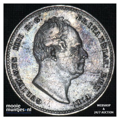 shilling - Great Britain 1834 (KM 713) (kant B)