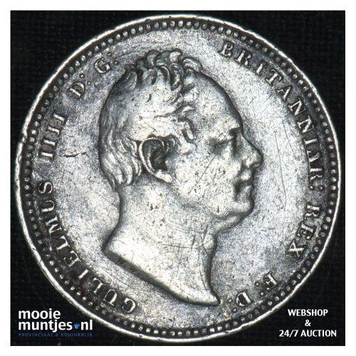shilling - Great Britain 1837 (KM 713) (kant B)