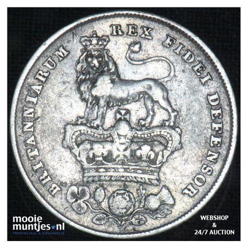 shilling - Great Britain 1827 (KM 694) (kant B)