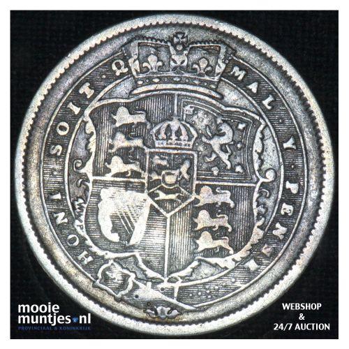 shilling - Great Britain 1820 (KM 666) (kant B)