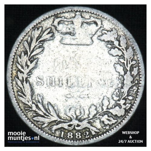 shilling - Great Britain 1882 (KM 743.4) (kant A)