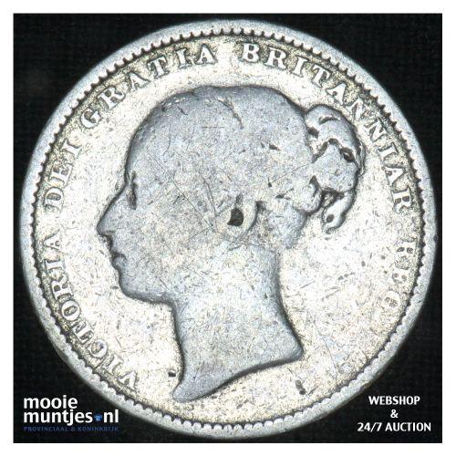 shilling - Great Britain 1882 (KM 743.4) (kant B)