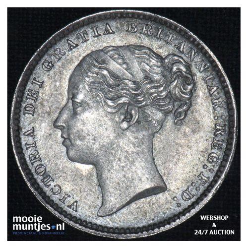 shilling - Great Britain 1884 (KM 743.4) (kant B)