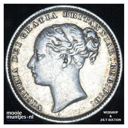 shilling - Great Britain 1886 (KM 743.4) (kant B)