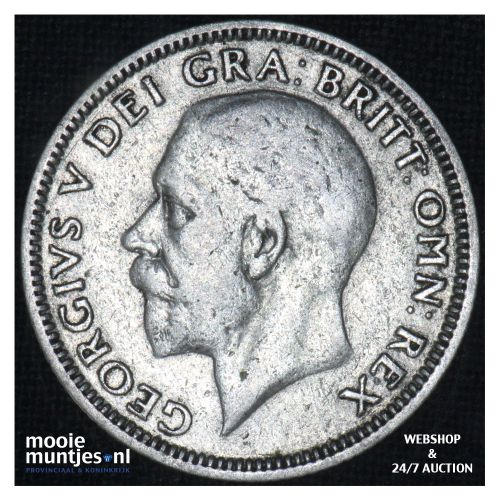 shilling - Great Britain 1932 (KM 833) (kant B)
