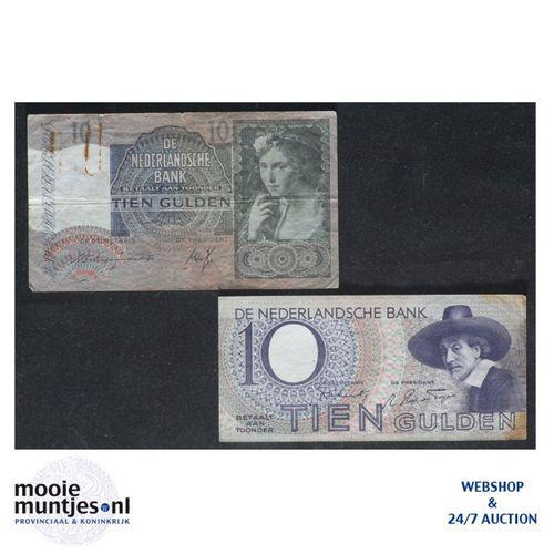 10 gulden  - 1940 (Mev. 42-2 / AV 31) (kant A)
