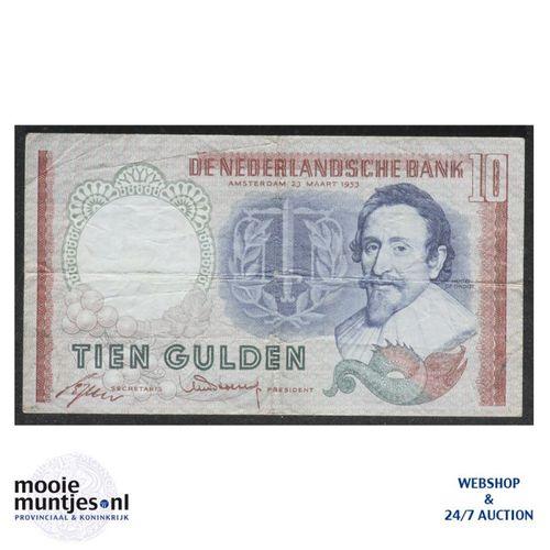 10 gulden  - 1953 (Mev. 48-1b / AV 36) (kant A)