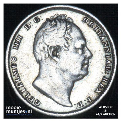 6 pence - Great Britain 1831 (KM 712) (kant B)