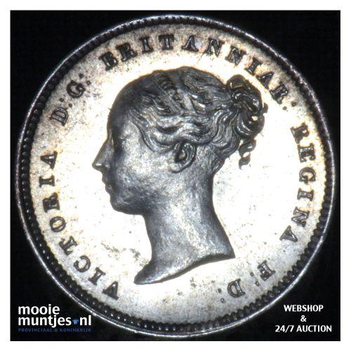4 pence (groat) - Great Britain 1839 prooflike (KM 732) (kant B)