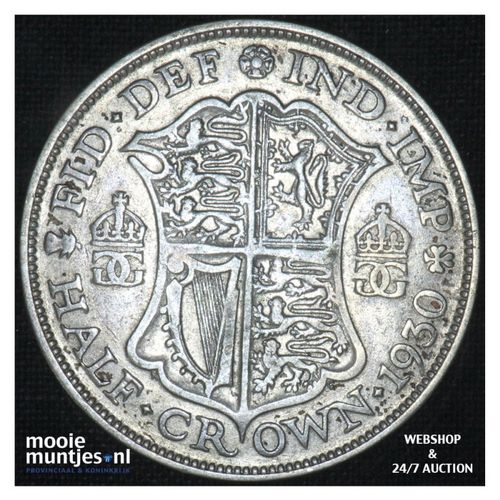 1/2 crown - Great Britain 1930 (KM 835) (kant A)