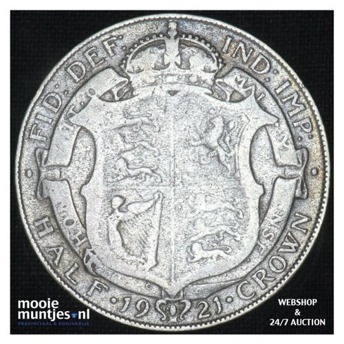 1/2 crown - Great Britain 1921 (KM 818.1a) (kant A)