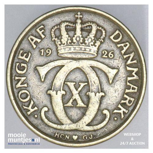 2 kroner - Denmark 1925 (KM 825.1) (kant A)