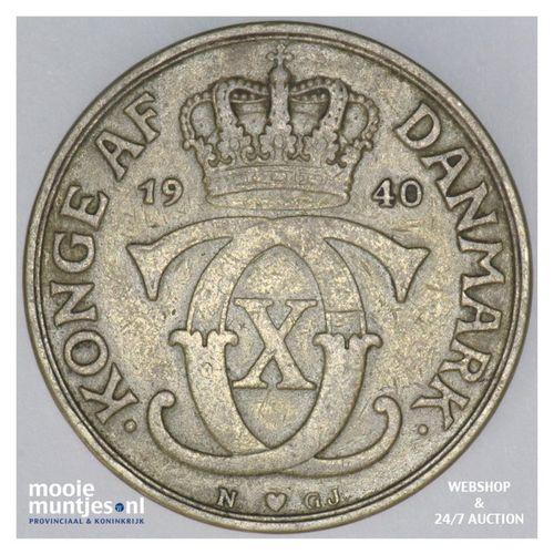 2 kroner - Denmark 1940 (KM 825.2) (kant A)