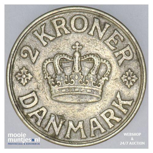 2 kroner - Denmark 1940 (KM 825.2) (kant B)