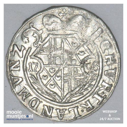 3 petermenger (3 albus) - German States/Trier 1708 GG (KM 191) (kant A)
