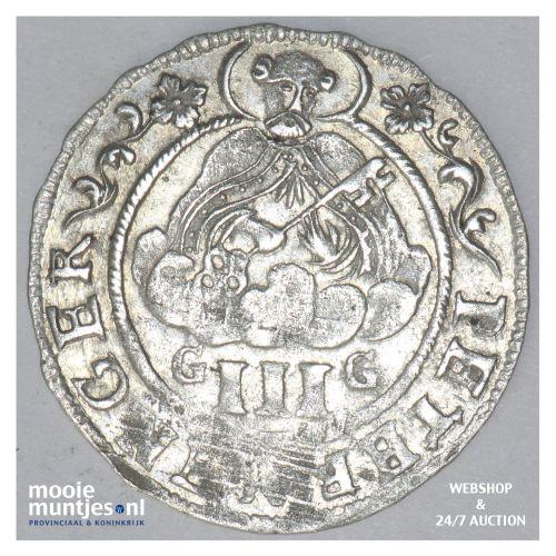 3 petermenger (3 albus) - German States/Trier 1708 GG (KM 191) (kant B)