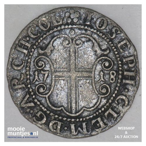 4 albus (blaffert) - archbishopric - - German States/Cologne 1718 FW (KM 109) (k